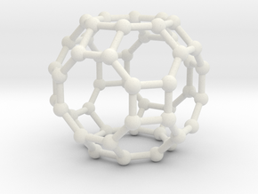 Truncated Cuboctahedron in White Natural Versatile Plastic