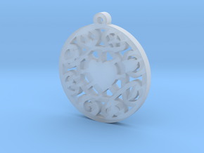 The Wheel of Time Pendant - By Celeste in Smooth Fine Detail Plastic