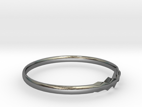 RING11BSIZER in Polished Silver