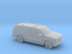 1/87 2000 Chevrolet Suburban  in Smooth Fine Detail Plastic
