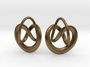 Noeuds in Natural Bronze