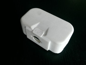 "DJI Phantom 1.5 Battery door  ""theONE""  SMALL in White Processed Versatile Plastic"