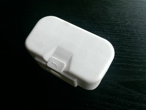 "DJI Phantom 1.5 Battery door  ""theONE""  BIG in White Strong & Flexible Polished"
