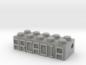 ARCADIA in Metallic Plastic