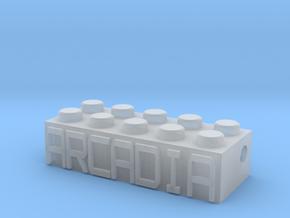 ARCADIA in Smooth Fine Detail Plastic