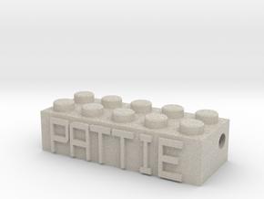 PATTIE in Natural Sandstone