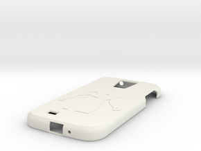 Samsung S4 case in White Natural Versatile Plastic