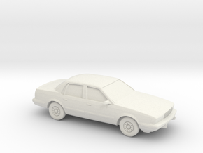 1/87 1991-93 Buick Century in White Natural Versatile Plastic
