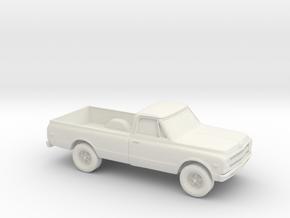 1/87 1969 Chevrolet C20 in White Strong & Flexible