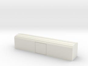 SBB Kühlwagen Ibbqs  TT 1/120 ; 1:120 in White Natural Versatile Plastic