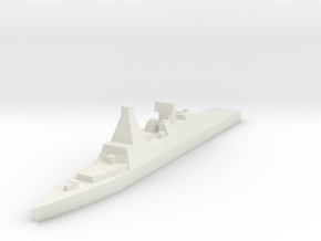 Naval, Cruiser, Generic in White Natural Versatile Plastic