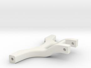 Querlenker Vorne UntenSTL in White Natural Versatile Plastic