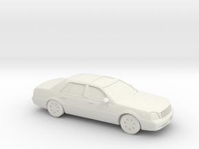 1/87 2000 Cadillac Dts De Ville in White Natural Versatile Plastic