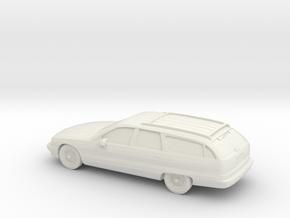 1/87 1996 Caprice Classic Tation Wagon in White Natural Versatile Plastic
