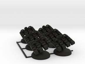 Twilight Refinery in Black Natural Versatile Plastic