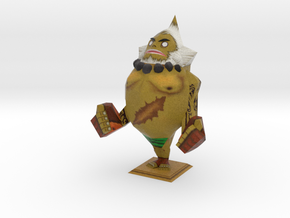 LARGE Goron statue from Zelda Majora's Mask in Full Color Sandstone