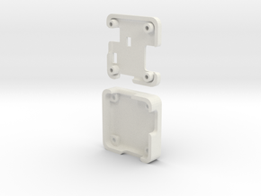 Naze32 Standard Case in White Natural Versatile Plastic