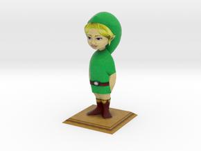LARGE Link Statue from Zelda Majora's Mask in Full Color Sandstone