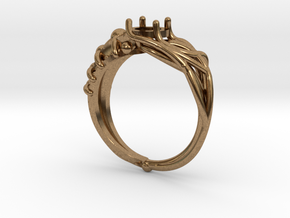 Duality Ring in Natural Brass