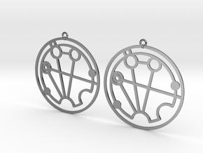 Stephanie - Earrings - Series 1 in Premium Silver