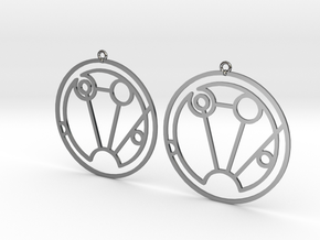 Sophia - Earrings - Series 1 in Premium Silver