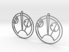 Skye - Earrings - Series 1 in Premium Silver