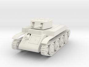"US T4E1 ""Combat car"" 1:48th WIP in White Natural Versatile Plastic"