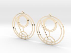 Quinn - Earrings - Series 1 in 14K Yellow Gold