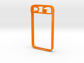 IPhone 4/4S in Orange Processed Versatile Plastic