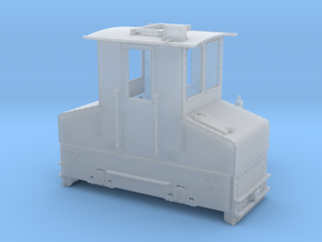 SSW Feldbahn Fahrleitungslok 1:35 in Smooth Fine Detail Plastic