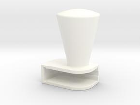 Iphone5 Cone in White Processed Versatile Plastic