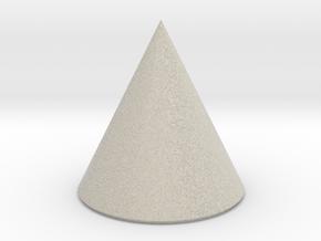 Basic Cone in Natural Sandstone