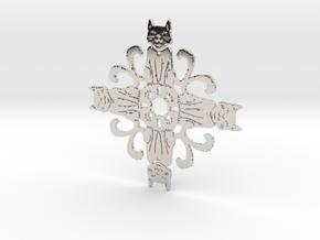Catflake #2 in Platinum