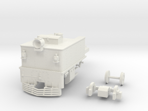 G42 Front Unit(O:1/48 Scale) in White Strong & Flexible