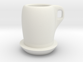 tea cup in White Strong & Flexible