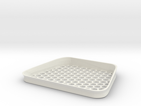 SubHole in White Natural Versatile Plastic