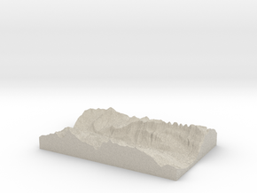 Model of Quinten in Sandstone