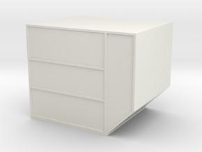LD-3 Air Cargo Container 1:72 in White Natural Versatile Plastic