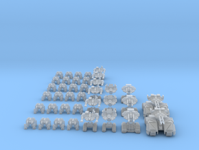 DRONE FORCE - BATTLE FORCE in Smooth Fine Detail Plastic