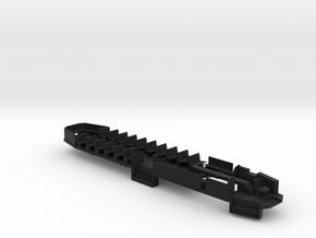 O Scale B&QT 6000 Floor/Interior #2 in Black Natural Versatile Plastic