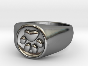 Signet1.1 in Polished Silver