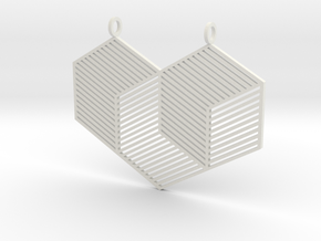 Strange Love in White Natural Versatile Plastic