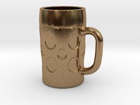 Beerglas-2013-11-08 in Natural Brass