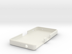 Z3 Compact Case (Plain) in White Natural Versatile Plastic