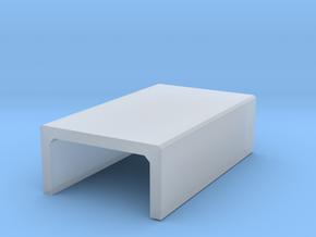 N/H0 Box Culvert Half Height (size 1) in Smooth Fine Detail Plastic