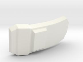 Iron Regalia Boots Buckle in White Natural Versatile Plastic
