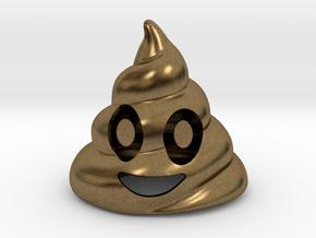 Poop Bottle Opener  in Natural Bronze