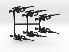 Intervention Sniper Rifle Pack in Black Strong & Flexible