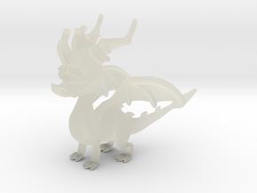 Spyro the Dragon in Transparent Acrylic