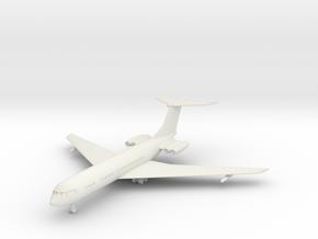 1/285 Vickers VC-10 in White Natural Versatile Plastic